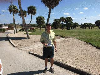 2017 Men's Senior Club Gross Champion Sam Todd