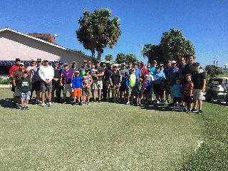 2017 Parent-Child Championship Golf Tournament Group