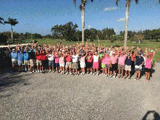 2018 Rally for the Cure Golf Scramble Group Picture